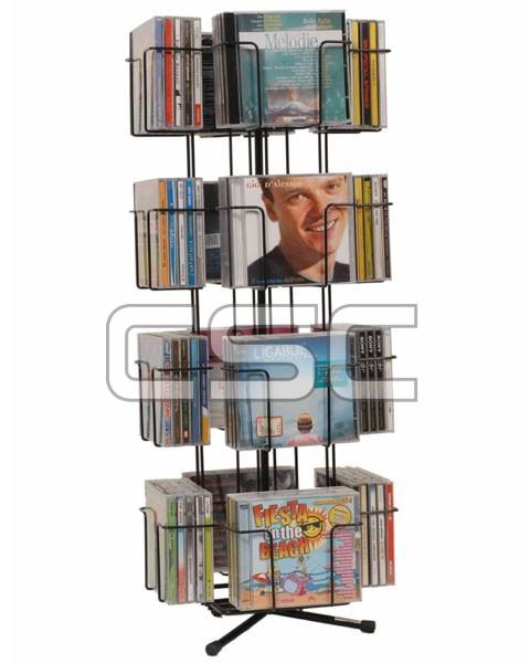 Espositore porta CD girevole