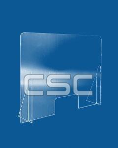 Schermo protettivo plexiglas