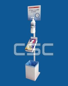 Totem dispenser gel igienizzante